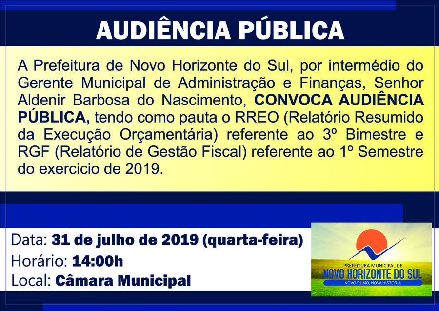 Center audiencia publica