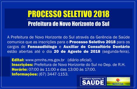 Left or right processo seletivo fono